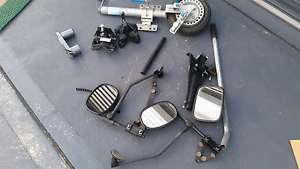 Caravan accessories tow mirrors, jocky wheel, table extender Buff Point Wyong Area Preview
