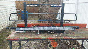 Back rack &  led light for sale