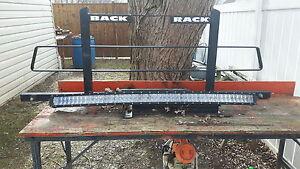 Back rack &  led light for sale