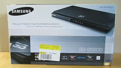 SAMSUNG 3D WiFi Ready Blu-ray Player BD-D5500