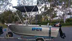4.18 mtr SAVAGE KESTREL WB ( wide body ) & 2008 30 hp MERCURY Balmoral Brisbane South East Preview