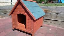 Dog kennel dog house medium size wooden Hunter Valley Greta Cessnock Area Preview