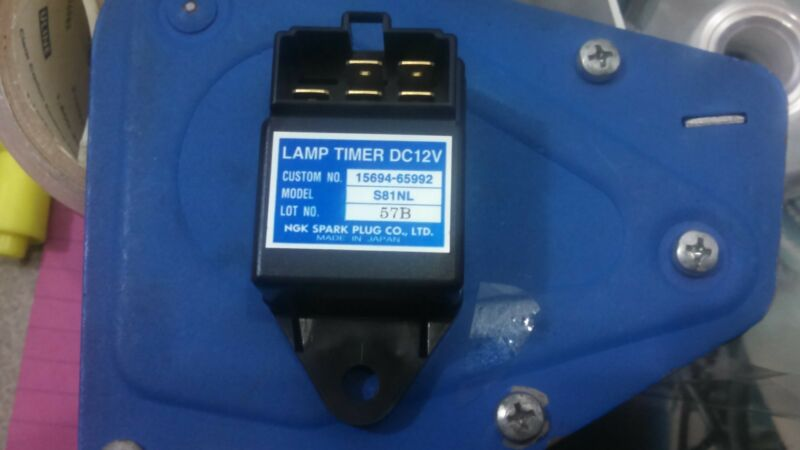 NGK -  15694-65990 ,15694-65992, S81NL Lamp (GLOW PLUG) Timer 12V - Kubota