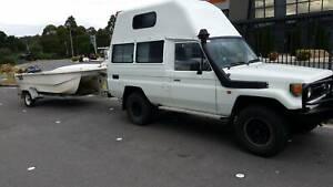 TROOPCARRIER 4WD CAMPERVAN