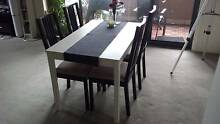 Like new dining table and 4 x chairs Erskineville Inner Sydney Preview