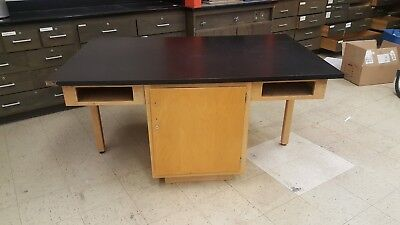 4 Person Student Lab Work Table School Classroom Workroom Furniture