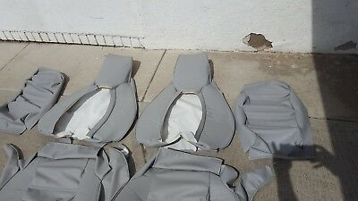 Upholstery Vinyl Kit - PORSCHE 928 UPHOLSTERY SEAT KIT (SET) GERMAN VINYL BEAUTIFUL KIT NEW
