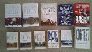 Matthew Reilly Books - New/Excellent/Good conditions Brighton Bayside Area Preview