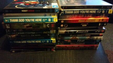 20+ DVDs Movies, Music & TV Shows Craigieburn Hume Area Preview