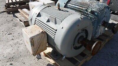 100 Hp Siemens Ac Electric Motor 1200 Rpm Fr 444t Tefcbb 460 V Eok