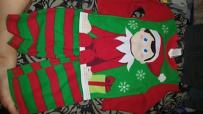 Boys Clothing Lot Sizes 3 And 4, Elf On The Shelf And Fleece Separates - Boy Elf On The Shelf Clothes