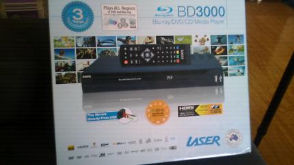 $60 BLU RAY DVD MEDIA PLAYER URGENT SALE