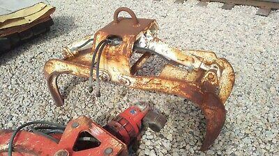Used Hydraulic Grapple Crane Grapple