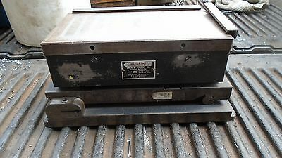 Machinist Lathe Mill 10 34 By 6 Magna Sine Magnetic Grinding Chuck On Sine