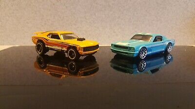 Hot wheels mustang set of 10 of the best