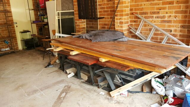 Free hardwood dining table tops benches and coffee tables ...