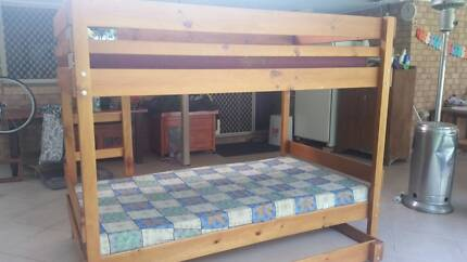 King Single Double Bunk with Trundle
