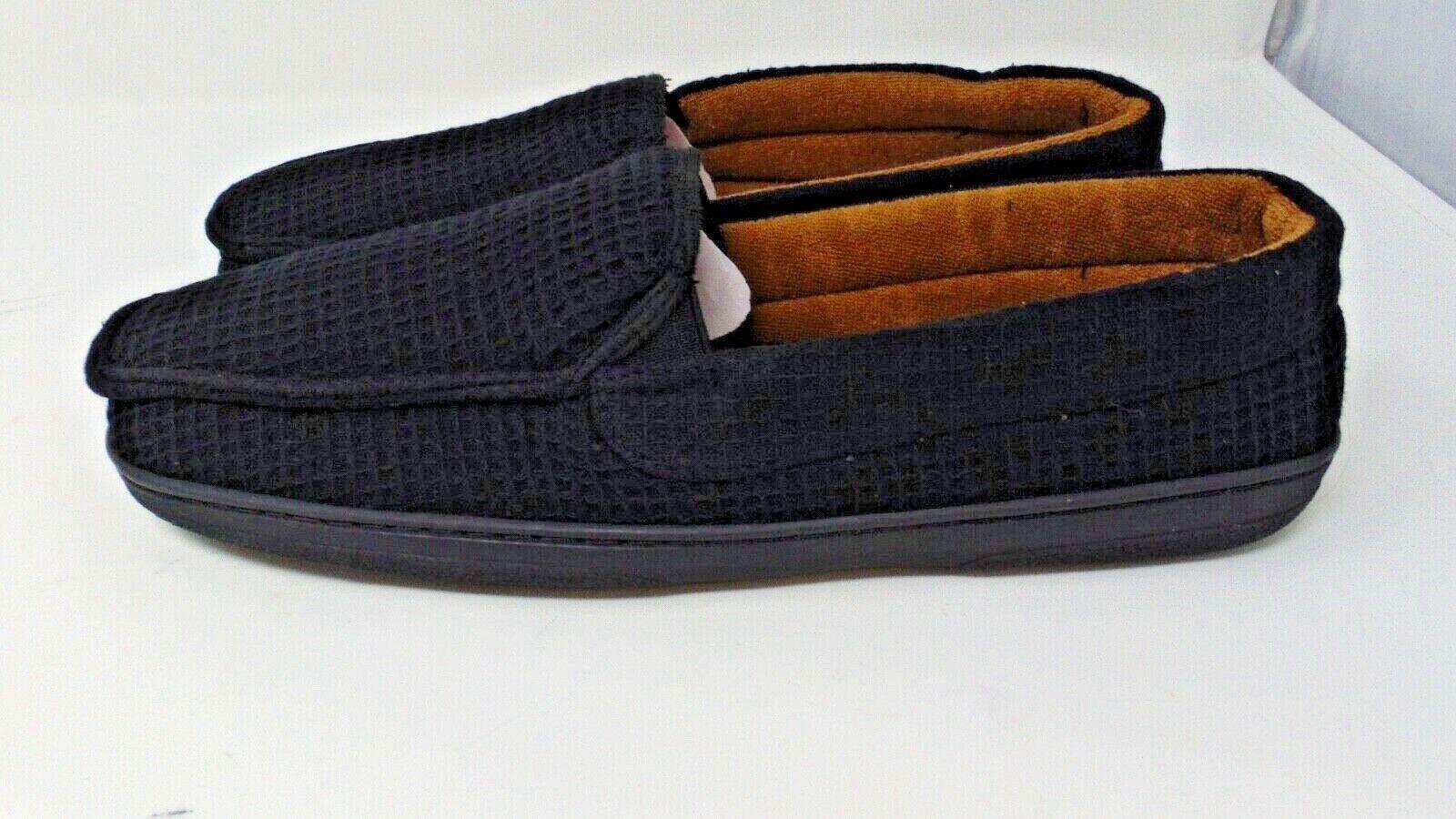 Health Rite Men's Soft Weave Slippers Width EEE Size 10