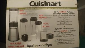 Cuisinart Compact Portable Blending/Chopping System - CPB-300C
