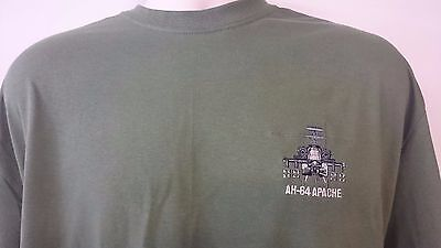 Army Air Corps Ah 64 Apache Helicopter T Shirt