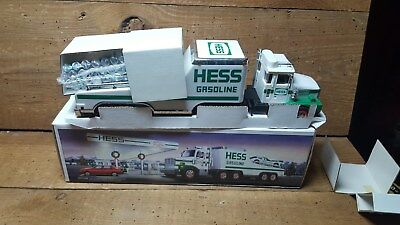 HESS 1988~~TOY TRUCK AND RACER~~ NEW IN BOX,  CASE FRESH!!  <LOOK>