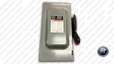 H362 Square D Series F Fusible Indoor Disconnect Safety Switch