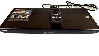 Sony 3D Blu Ray Disc DVD Player BDP S590 Wi Fi Wireless with original remote.