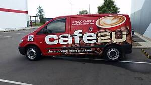 Cafe2U Eagle Farm (mobile coffee van) For Sale Eagle Farm Brisbane North East Preview
