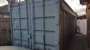 20ft Storage Container w/ lockbox and built-in shelving Ardeer Brimbank Area Preview
