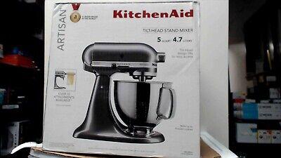 Artisan KitchenAid KSM150PSQG 325W 5 qt. Stand Mixer Liquid Graphite