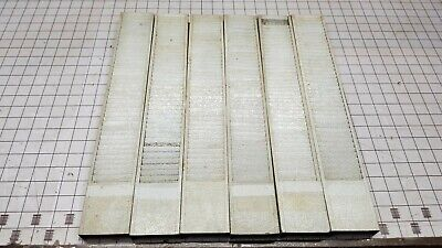 Buddy Products 40 Pocket Badge Time Job Card Rack Steel Vertical - Lot Of 6