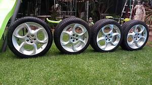 "ALFA ROMEO-147-TI-17""MAGS-WHEELS FITS,GT,156,,SPIDER,GTV,90,75.IN Doonside Blacktown Area Preview"