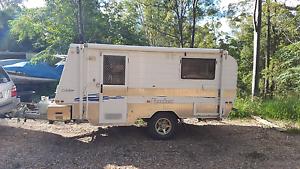 Caravan Goldstream micro Franklin off road Cedar Vale Logan Area Preview
