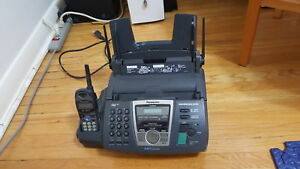 Panasonic fax with cordless phone