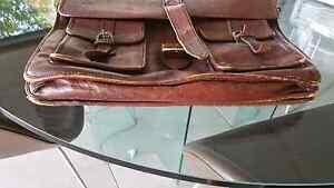 Vintage leather briefcase Auchenflower Brisbane North West Preview