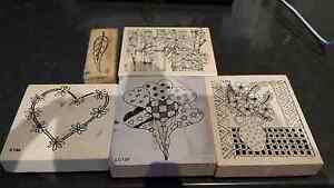 Rubber Stamps - Assorted stamps Cambridge Clarence Area Preview