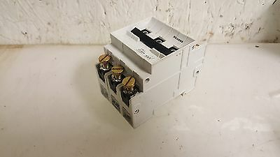 Siemens 20A Circuit Breaker, 5SN3, G20A, 3 Pole, 240/415V, USED, WARRANTY