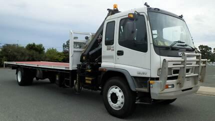 2006 Isuzu FVD950 Crane truck