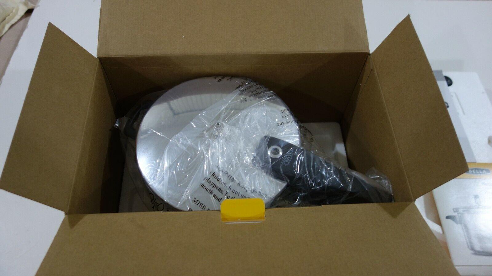 BELLA Aluminum PRESSURE COOKER 5 QUART CAPACITY Stovetop NEW