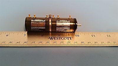 Beckman Helipot Dual Precision Potentiometer 10k & 1k 7233-119-3 Pot