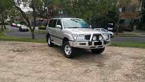 Very tidy 105 Series Landcruiser Dual Fuel Coburg Moreland Area Preview