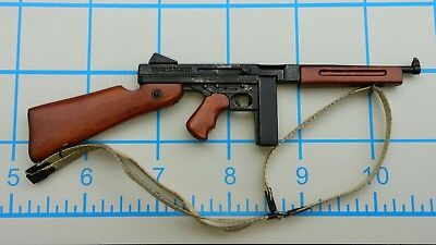 DID WWII US Bryan Military Police wood n Metal Thompson 1/6 Toys Soldier gun - Military Toys