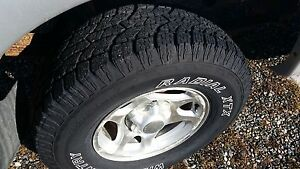 Brand new  wild country tire with ford Rim 265 75 R16
