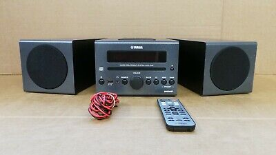 (Pa2) Yamaha MCR042 Micro HiFi System Tuner Dab CD Player - Remote Included