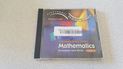 Mathematics Concepts and Skills Course 2 CD - ROM