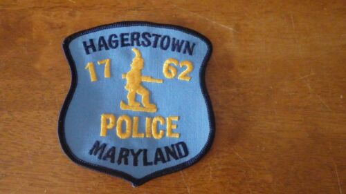 HAGERSTOWN MARYLAND  POLICE DEPARTMENT    PATCH BX 10 #2