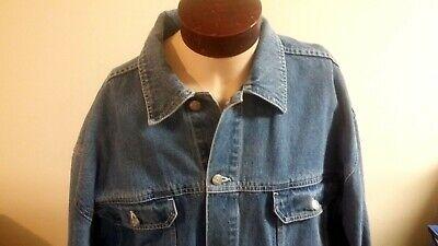 Men's PJ Mark Denim Heavy Jean Jacket Size 2XL 100% Cotton Russia (Pj Jacket)