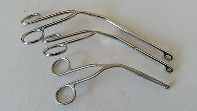 3 Pcs Magill Forceps EMT Anesthesia Surgical Instruments