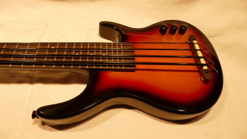 Kala Solid Body SUB 4-String Solid Body Electric U-Bass Guitar - Sunburst
