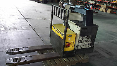 Crown 80pr-27-3 Electric Pallet Rider Truck 8000 Lbs